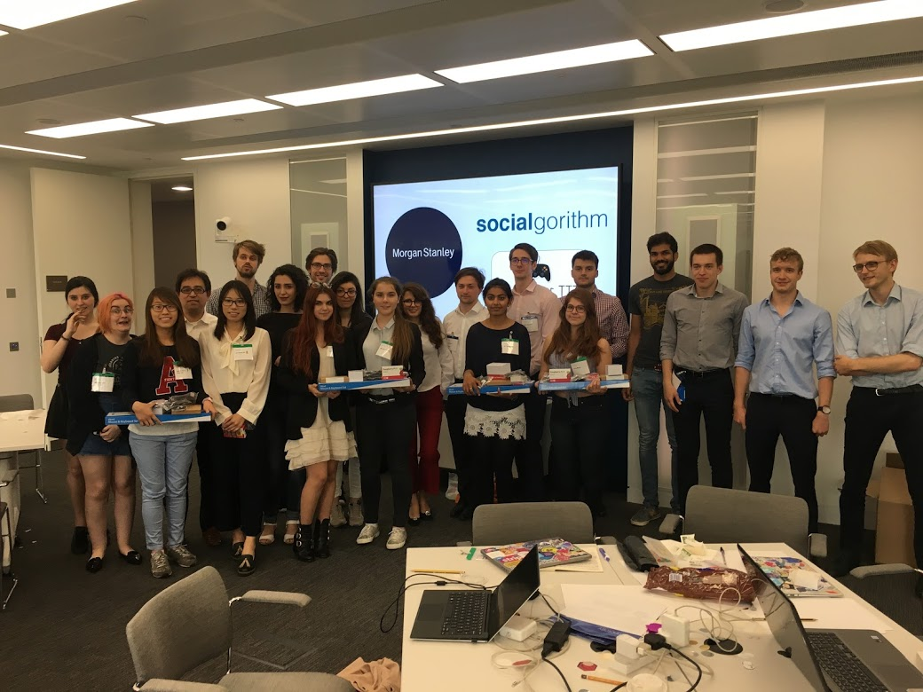 Algorithm Competition - Ultimate Tic Tac Toe @ Morgan Stanley, London
